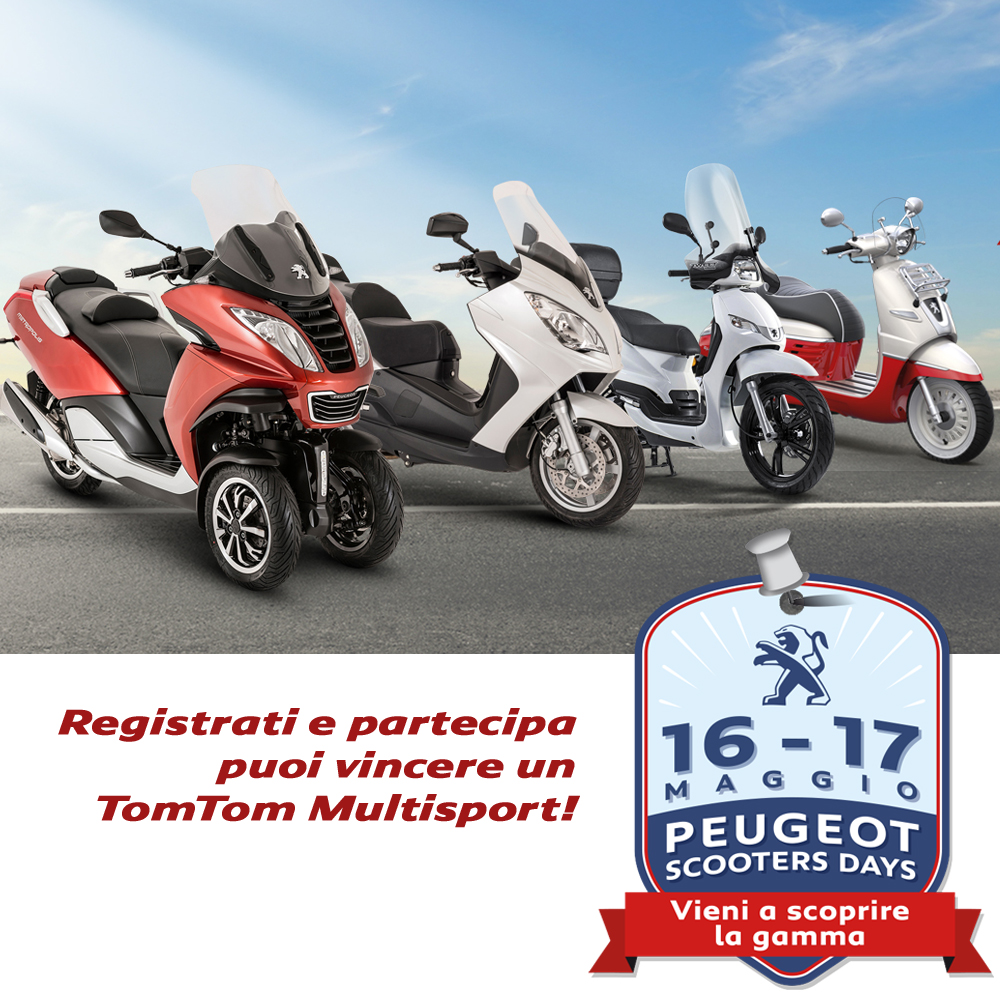 POST Peugeot Scooters Days