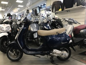 vespa lx 125 blu